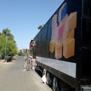 habillage de camion