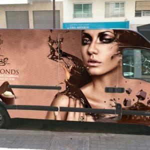 habillage de camion publicitaire