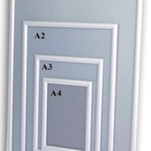 Cadre aluminium amovible